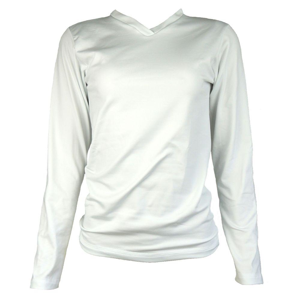 Blusa Segunda Pele Térmica Branca