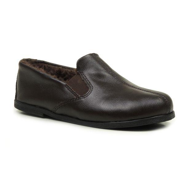 pantufa-marrom-forrada-em-la-de-carneiro