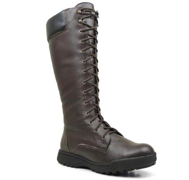 bota-fiero-marrom-para-neve