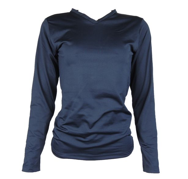 5f020eee43 Blusa feminina térmica segunda pele azul marinho - fieroshop