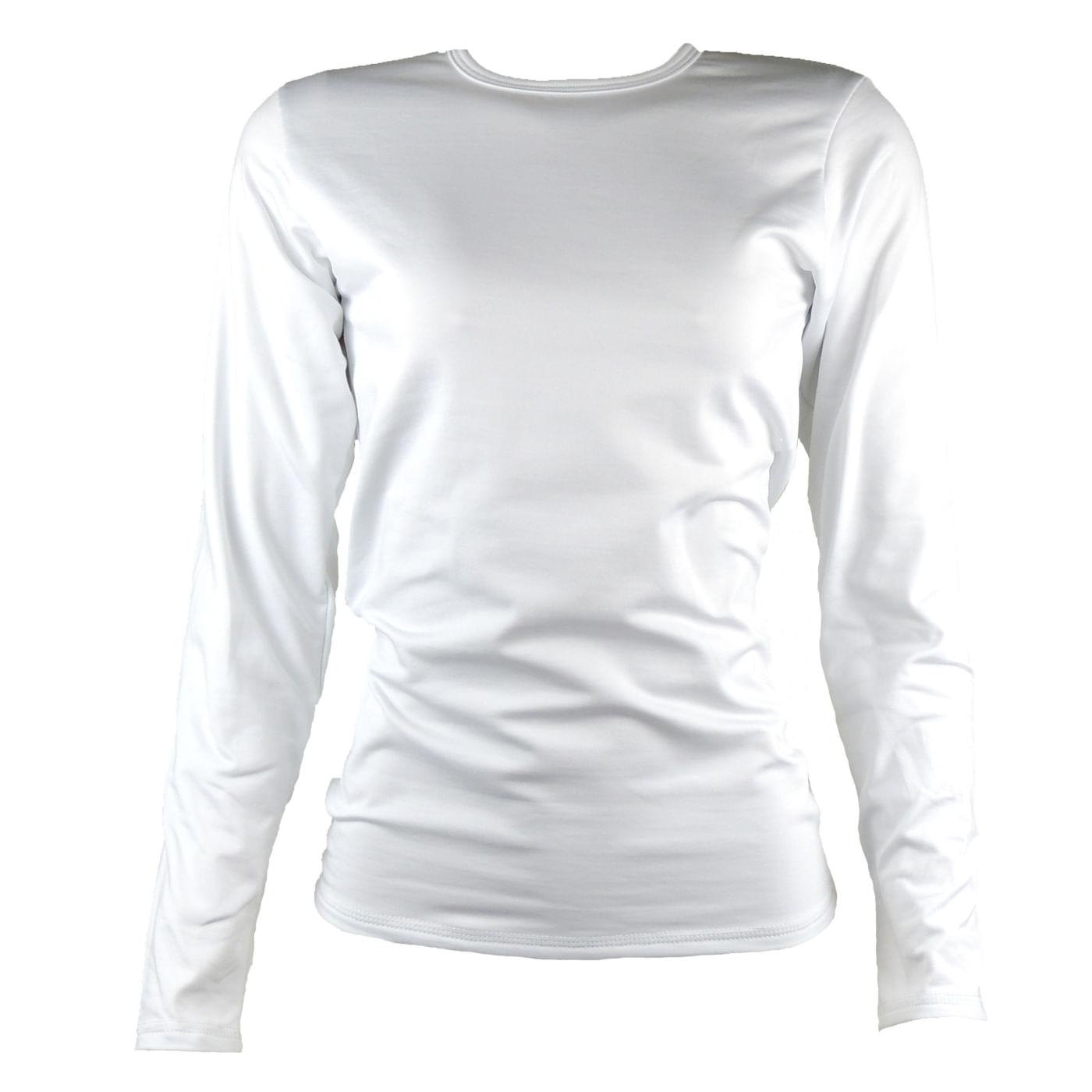 4fb7beeb9 Blusa térmica feminina segunda pele branca - fieroshop