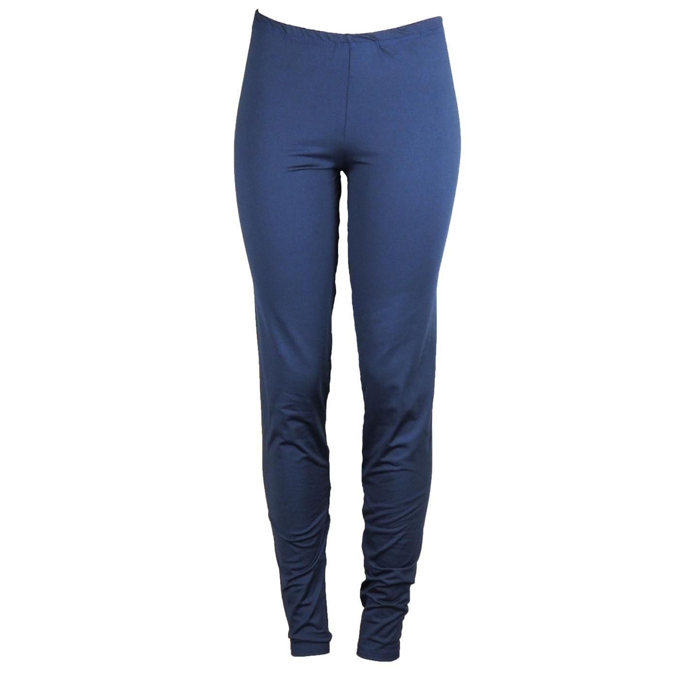 5fc0c78a4a Calça térmica feminina azul marinho para o inverno - fieroshop