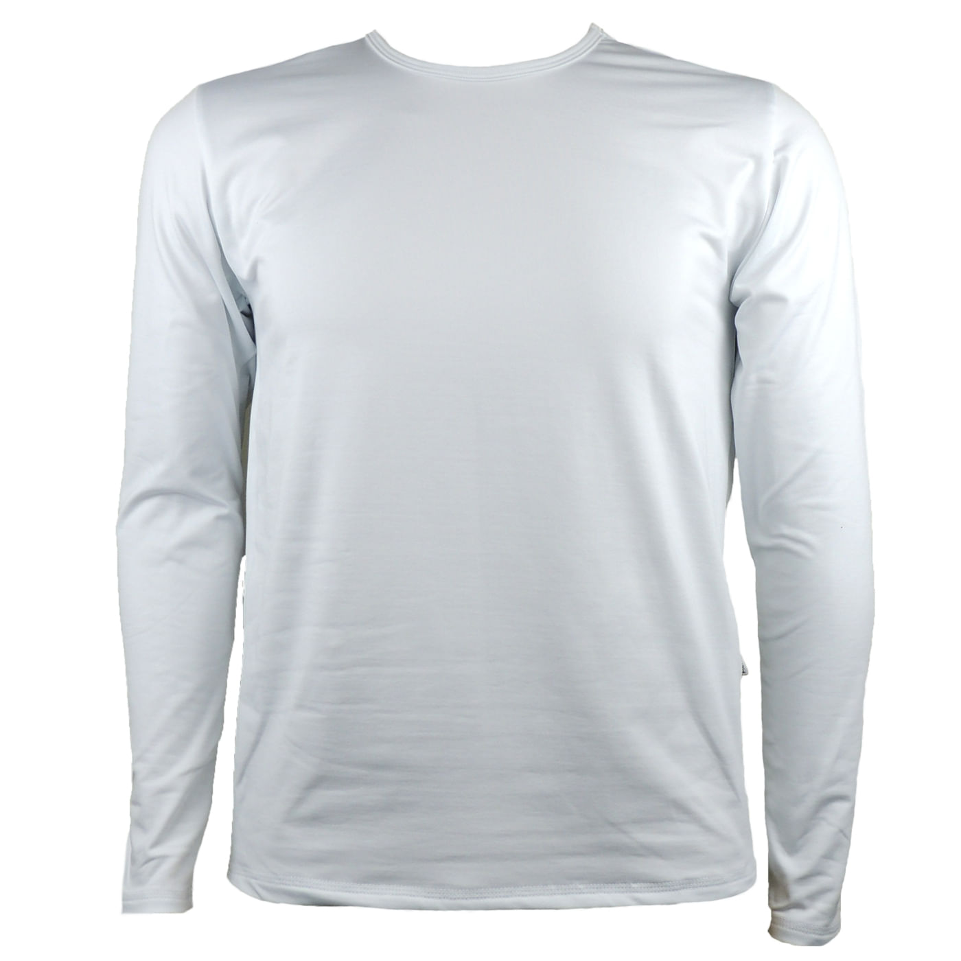 e9855b3d29 Blusa Térmica Masculina na Cor Branca
