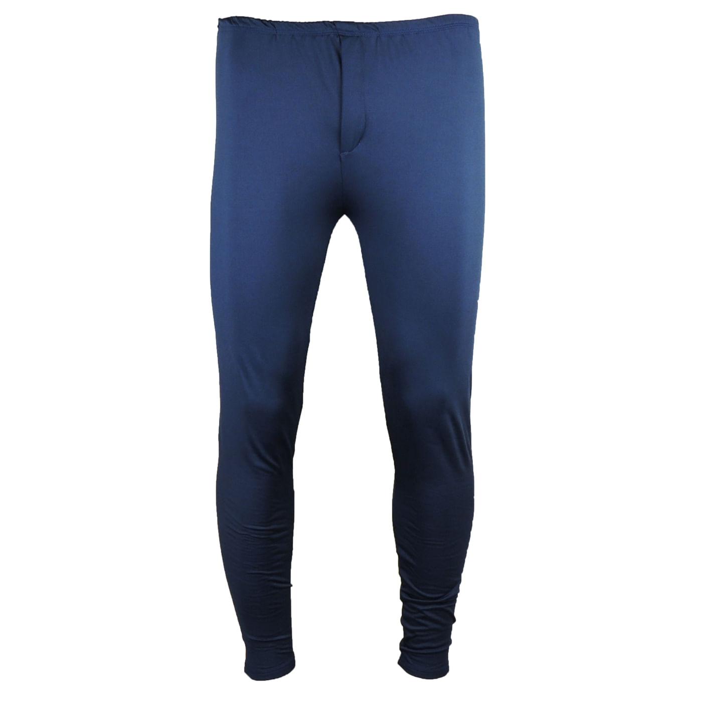 Calça Térmica Masculina Segunda pele azul marinho para o inverno - fieroshop 967c00d06f4cb