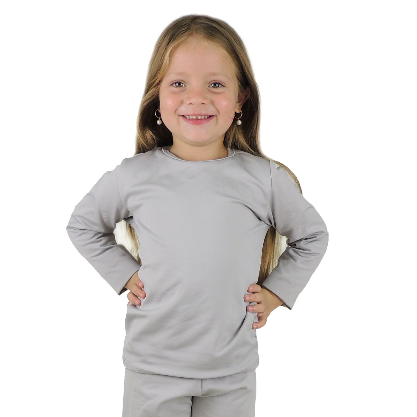 Blusa térmica Infantil Segunda Pele para o inverno e frio intenso -  fieroshop 658f69a0661