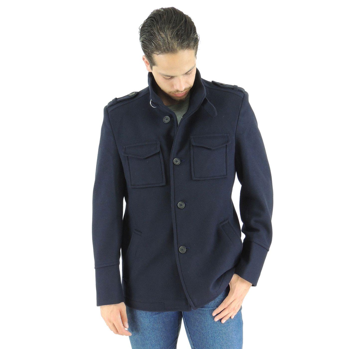 Casaco Masculino Oregon em lã uruguaia Premium - fieroshop bd0047ad4d2dc