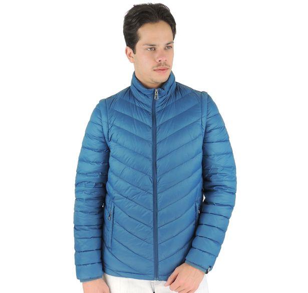 jaqueta-masculina-de-pluma-azul