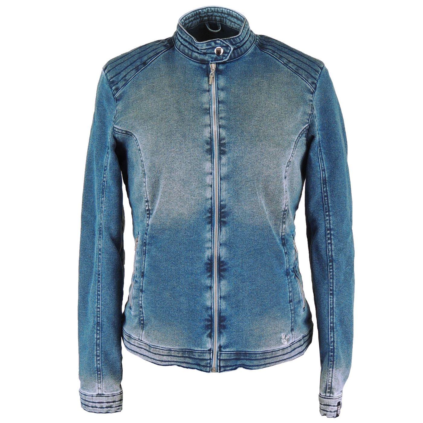 Jaqueta Térmica Feminina Jeans Queens para o frio e inverno - fieroshop c254e60b917a6