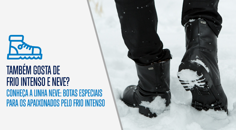 Masc botas para neve