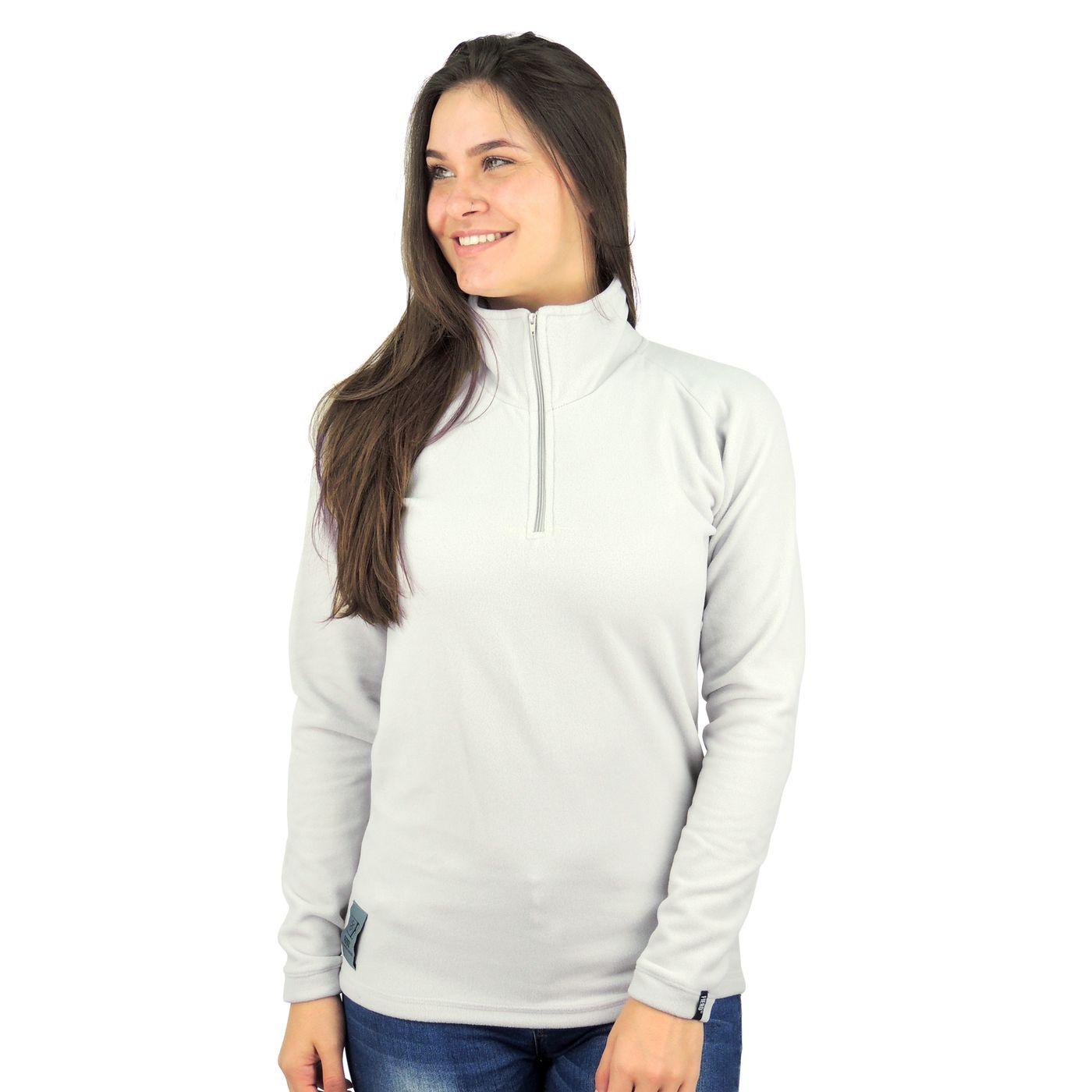 Fleece térmico feminino para o frio e inverno - fieroshop dac30fe60b0