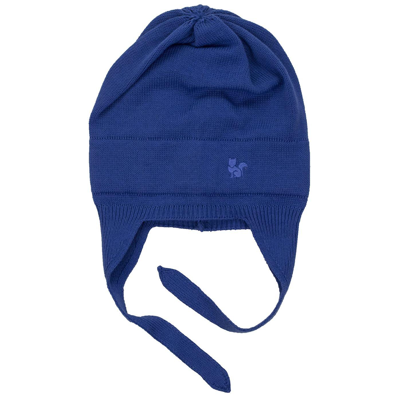 63a910a76 Gorro para bebê em tricô premium cor azul marinho - fieroshop