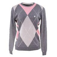 trico-feminino-losango-cinza-rosa-claro