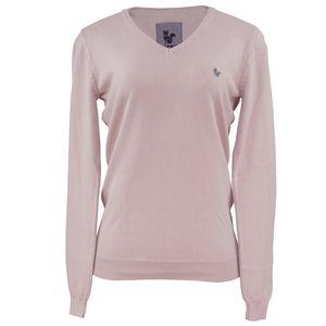 trico-gola-v-rosa-bem-claro-para-o-frio