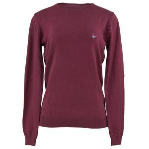 sueter-feminino-em-trico-cor-vinho-gola-redonda