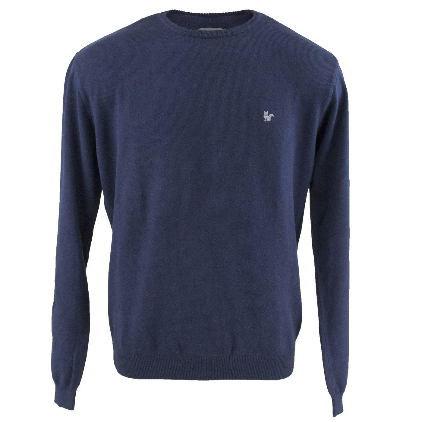 825a1ebe0 Suéter Masculino Azul Marinho em algodão - fieroshop