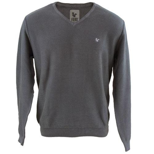 trico-masculino-cinza-gola-v