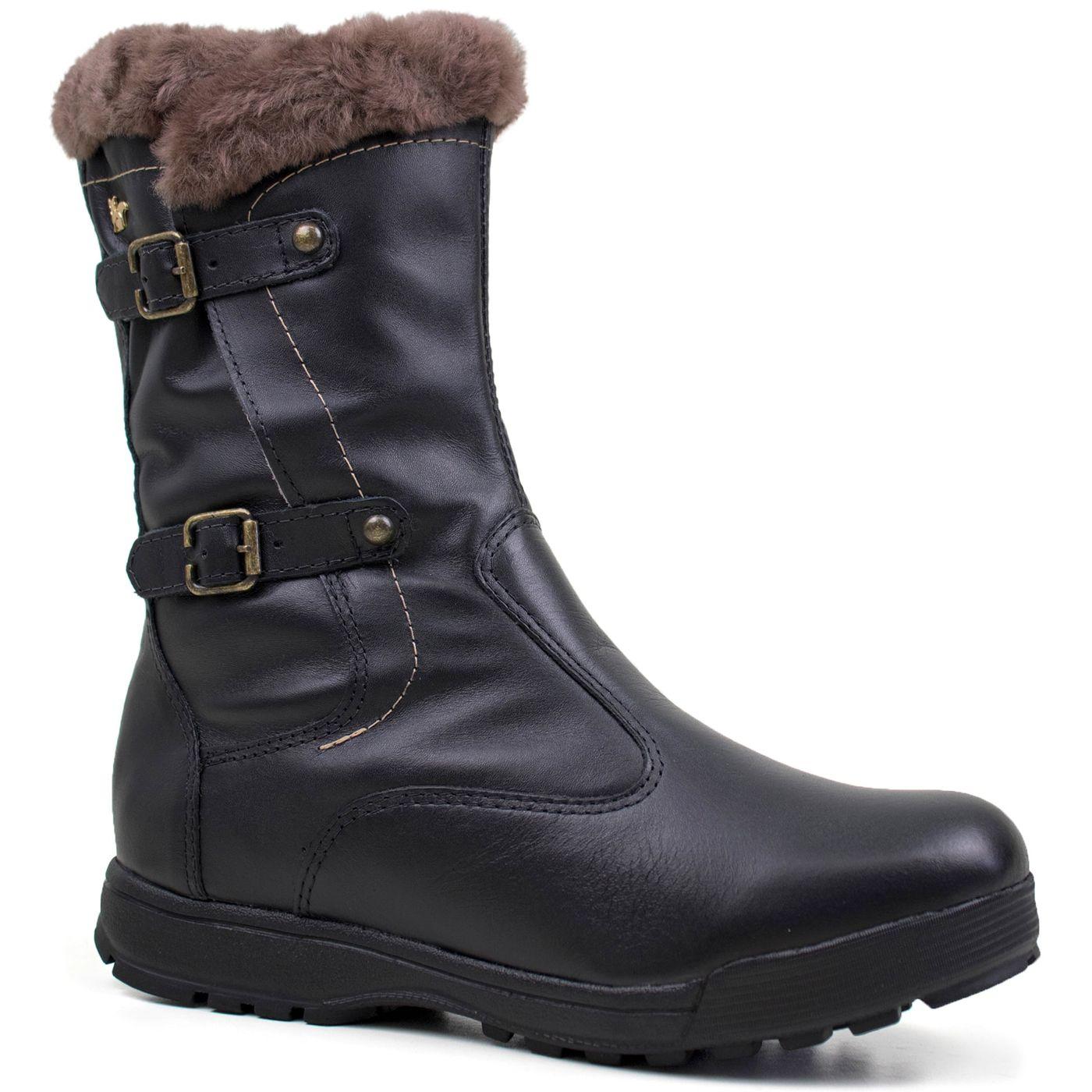 bf533cee21c6 Botas Femininas para Neve Forrada em Lã Natural | Fiero Shop - fieroshop