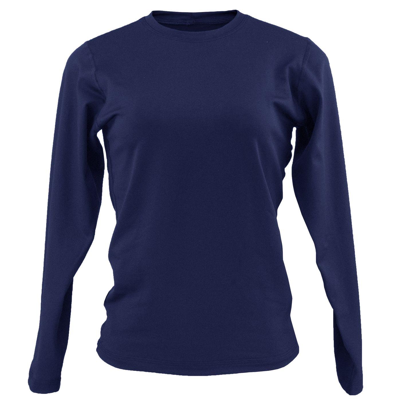 d4f56ee49 Blusa feminina azul marinho segunda pele térmica - fieroshop