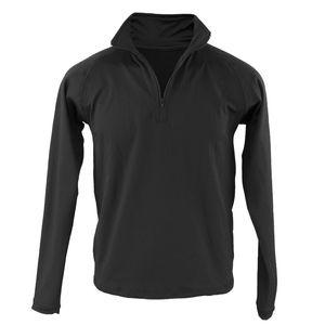 blusa-termica-masculina-meio-ziper-preta-para-os-dias-de-inverno