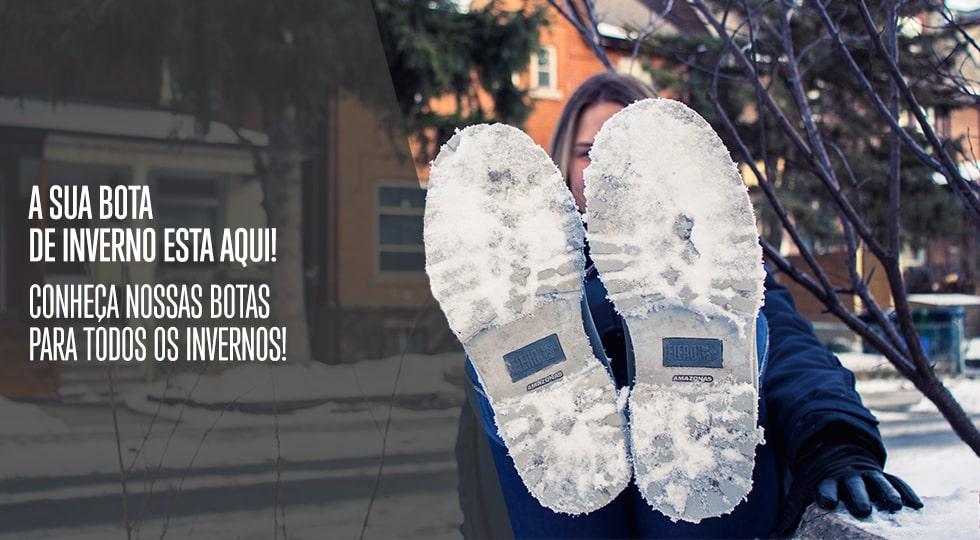df0d82491 BOTAS FEMININAS PARA O FRIO E NEVE Nos dias de inverno é fundamental optar  por um calçado que proporcione a proteção térmica ideal, mantendo os pés ...