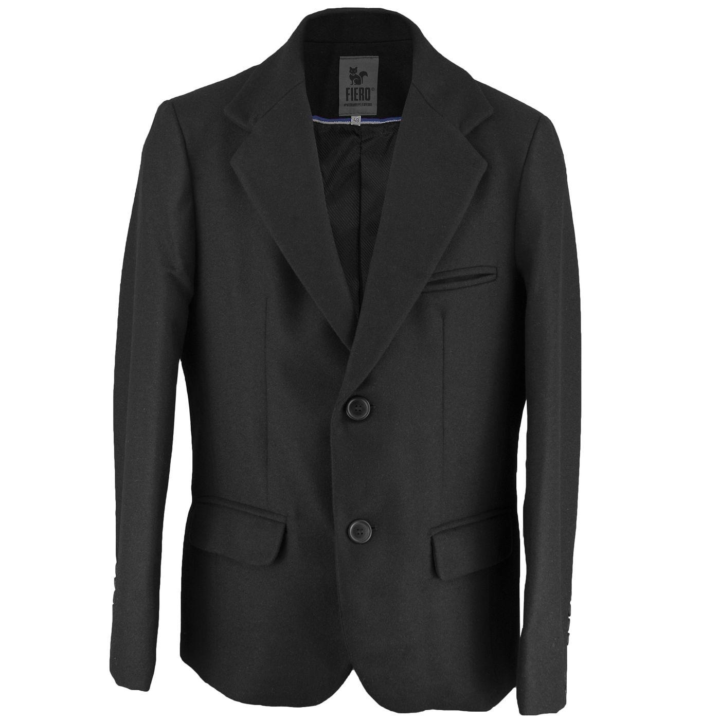 96160733a Blazer Masculino Fiero em lã uruguaia premium para o inverno e frio intenso  - fieroshop