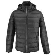 casaco-masculino-preto-em-pena-e-pluma