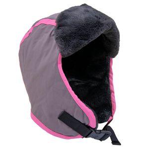 gorro-rosa-infantil-impermeavel-para-neve