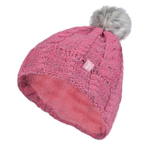 gorro-rosa-em-trico-da-heat-holders