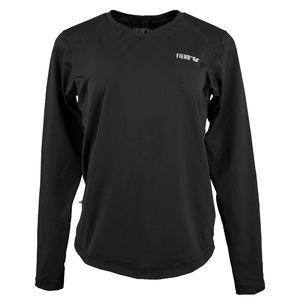 camiseta-termica-feminina-gola-v-preta-para-neve
