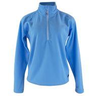 fleece-termico-feminino-azul-claro-meio-ziper-para-o-inverno