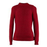 sueter-feminino-vermelho-trico