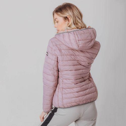 jaqueta-rosa-gomos-com-capuz-para-o-inverno-e-frio