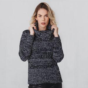 trico-preto-cinza-mescla-feminino-gola-grande