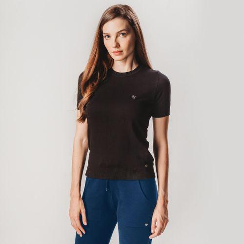 blusa-em-trico-preto-manga-curta-liso-fiero