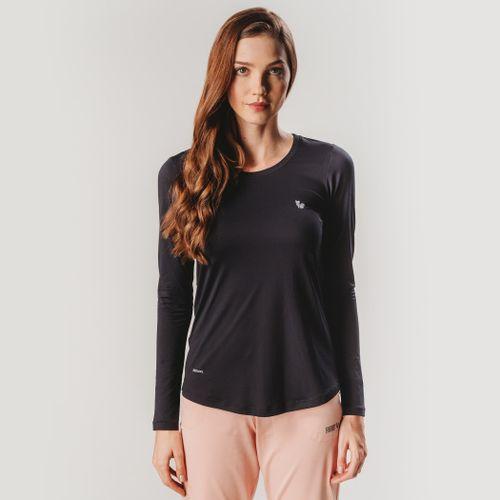 camiseta-manga-longa-preta-feminina-dry-fit-sensecool-fiero