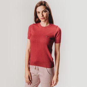 blusa-manga-curta-de-trico-feminina-vermelha