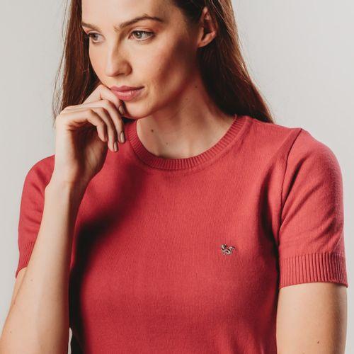 trico-manga-curta-vermelho
