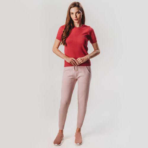 look-completo-de-trico-vermelho-e-rosa