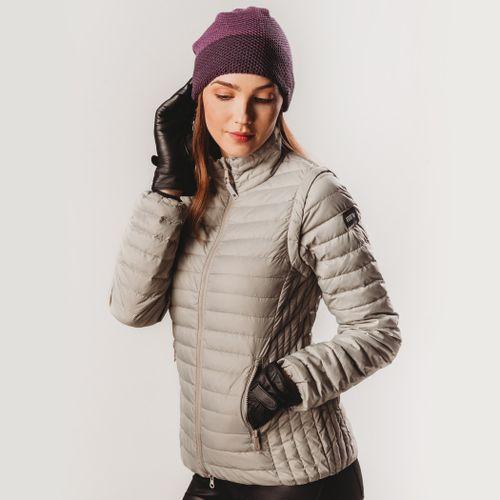 casaco-bege-plumas-fiero