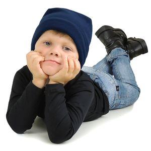 gorro-termico-infantil-azul-marinho