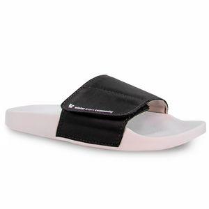 chinelo-slide-feminino-preto-de-couro