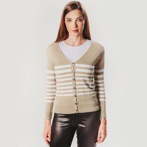 trico-cardigan-estilo-casaquinho-com-listras-bege-e-branca