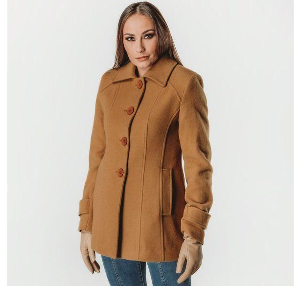 casaco-feminino-castanho-em-la-dakota