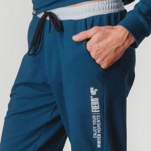 calca-masculina-de-moletom-estilo-jogger-azul-e-branco